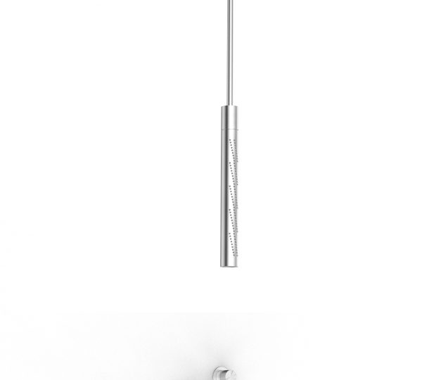 Built-in shower set