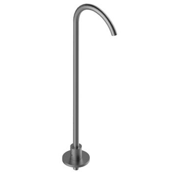 Column-mounted washbasin spout