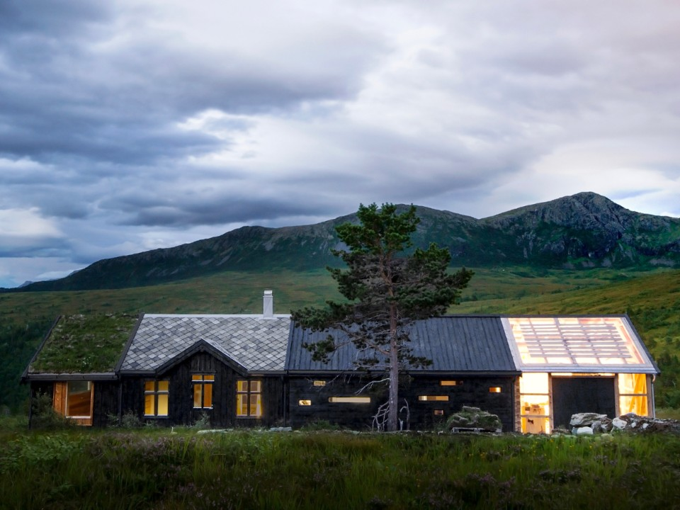 NORWAY One house, four distinctive styles.