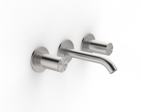 Traditional built-in washbasin tap