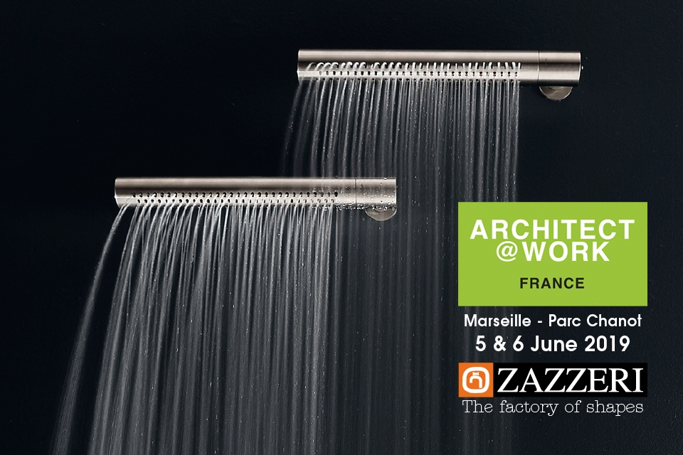 Architect @ Work Marsiglia – 5-6 June 2019 Zazzeri will partecipate!