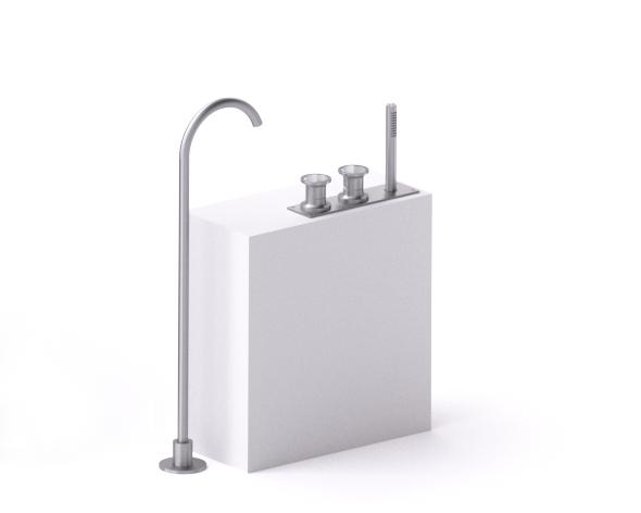 Bathtub set