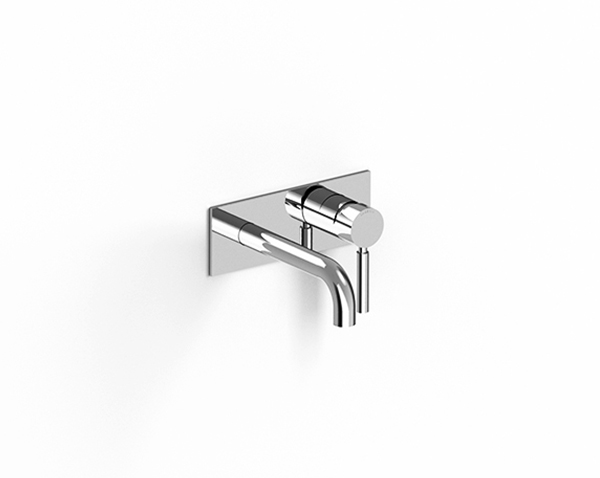Built-in washbasin set