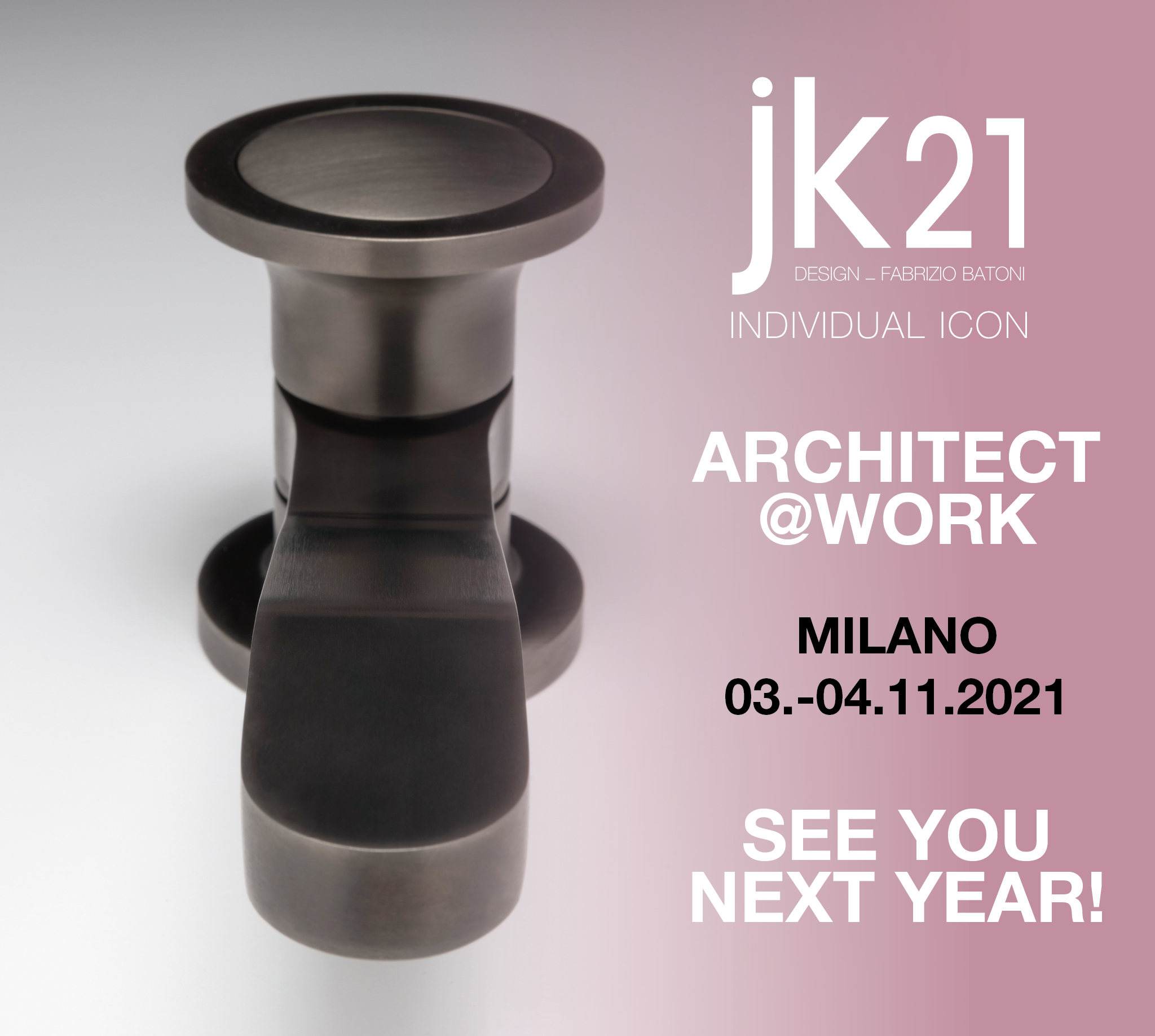 Architect @ Work Milan postponed to 2021