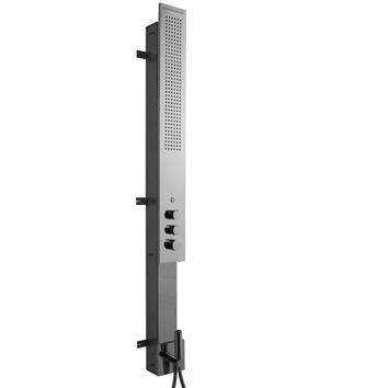 colonne de douche multifonction avec flyfall encastr e rubinetterie zazzeri. Black Bedroom Furniture Sets. Home Design Ideas
