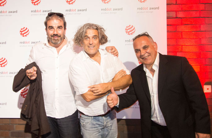 Essen 29 Giugno 2015 – Premiazione RedDot per Pop e Obliqua