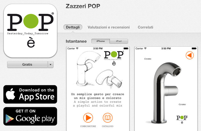 """POP"" – APP Choose the right Pop for you!"