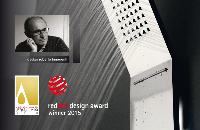 OBLIQUA – Vince il Red Dot Award 2015