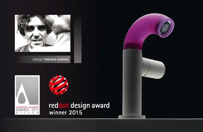 POP, important rewards 2015 – RedDot Award and Silver A' Design Award