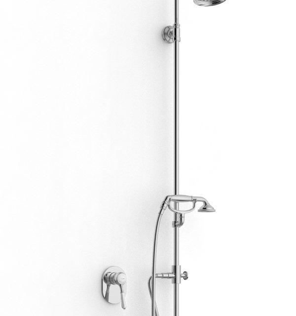 Gruppo doccia incasso rubinetterie zazzeri for Gruppo doccia