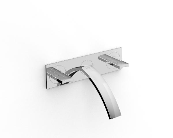 grifos tradicionales con lavabo empotrado rubinetterie zazzeri. Black Bedroom Furniture Sets. Home Design Ideas