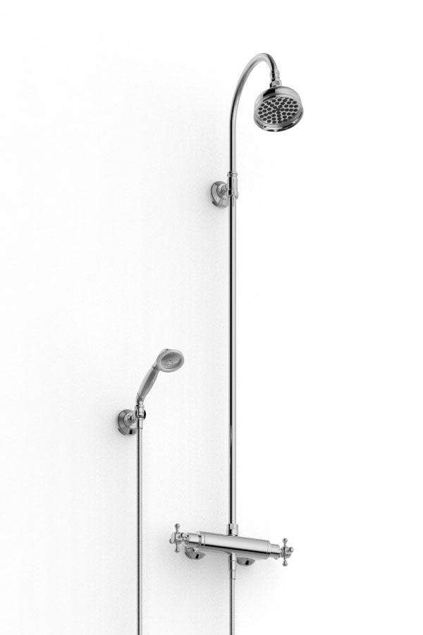Gruppo doccia esterno rubinetterie zazzeri for Gruppo doccia