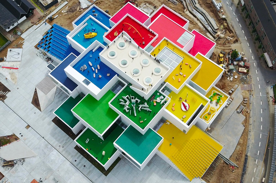 DANIMARCA La Lego House a Billund