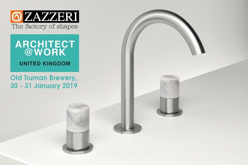 Zazzeri  partecipa ad architect@work Londra 30-31 gennaio 2019