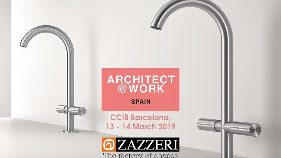 13 – 14 Marzo 2019 Zazzeri presente ad Architect @ Work Barcellona