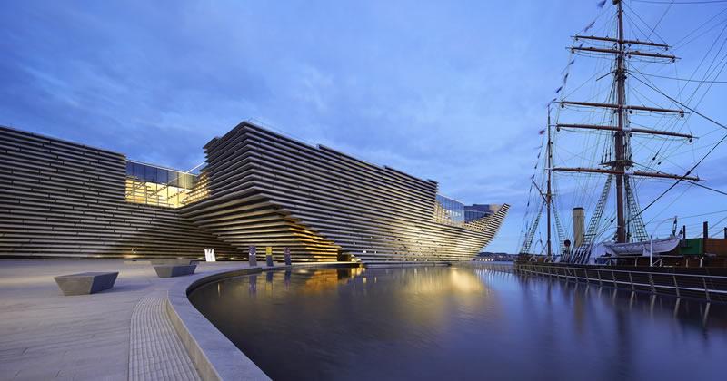 SCOZIA Victoria and Albert Museum a Dundee, firmato Kengo Kuma