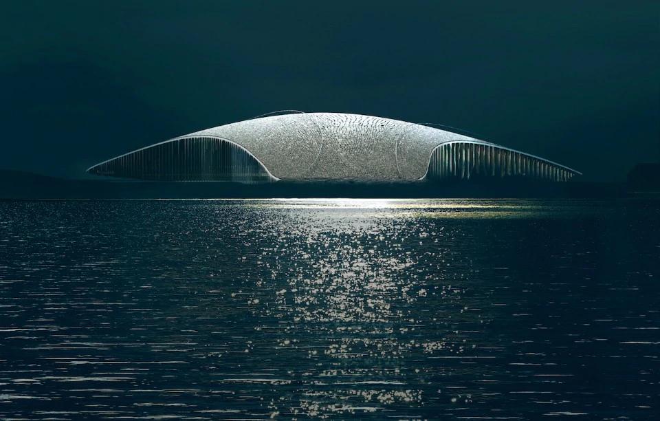 CIRCOLO ARTICO Un osservatorio a forma di balena
