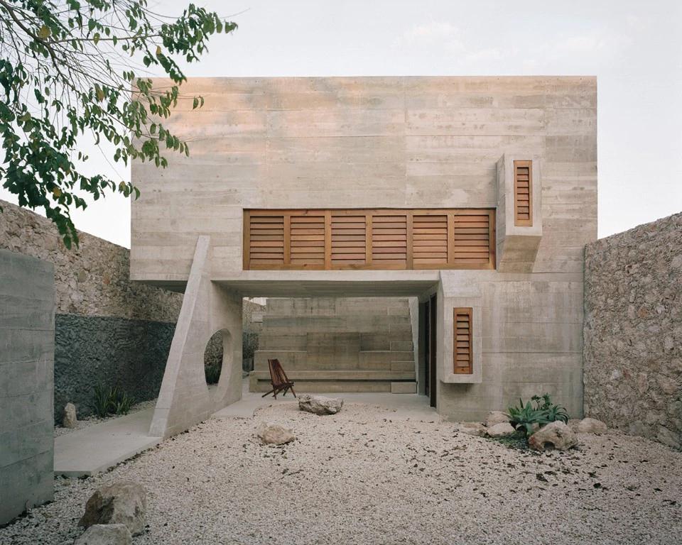 Yucatan, Messico Una casa contemporanea che si ispira alla cultura Maya